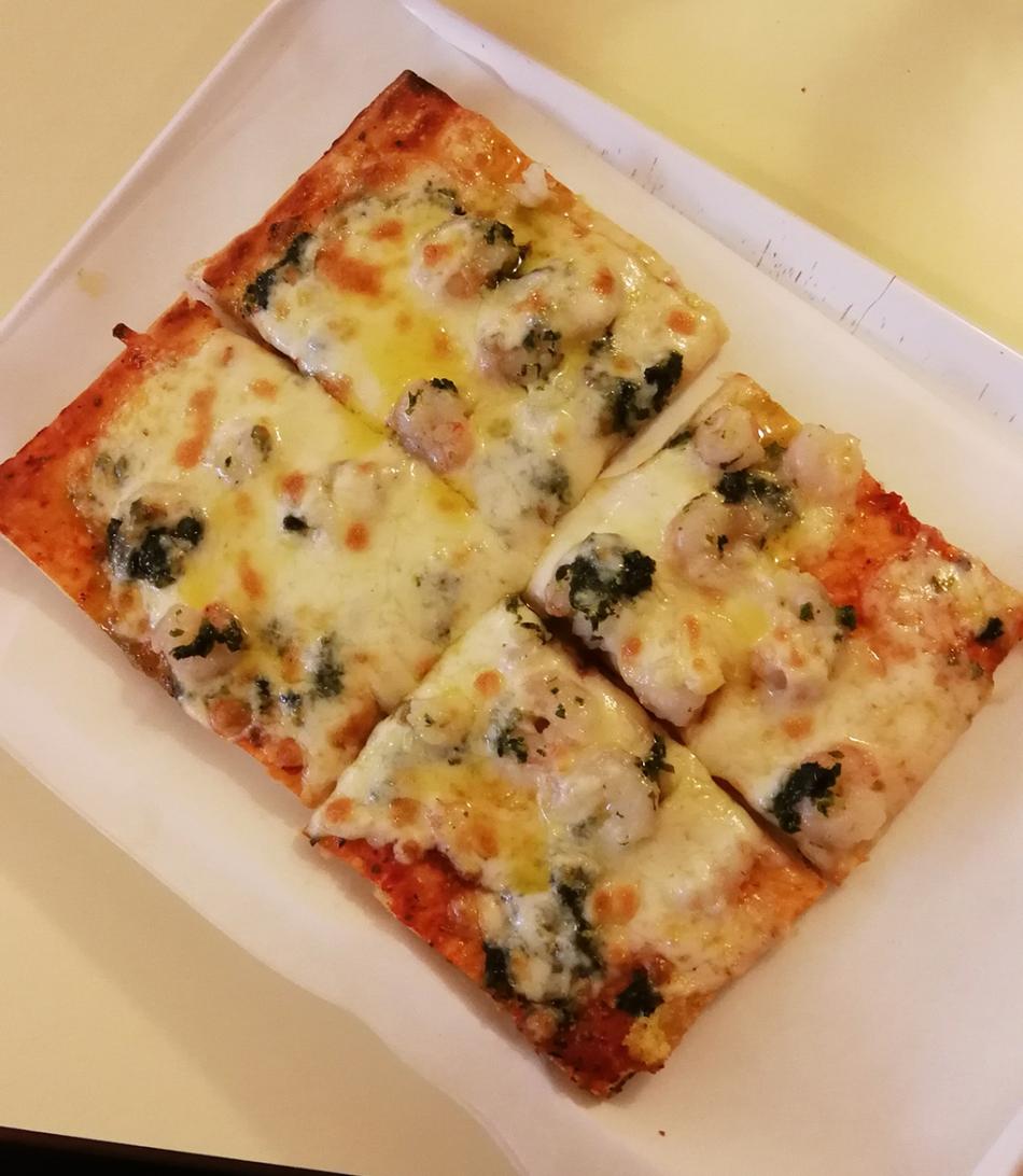 Prawn Pizza Lucania II
