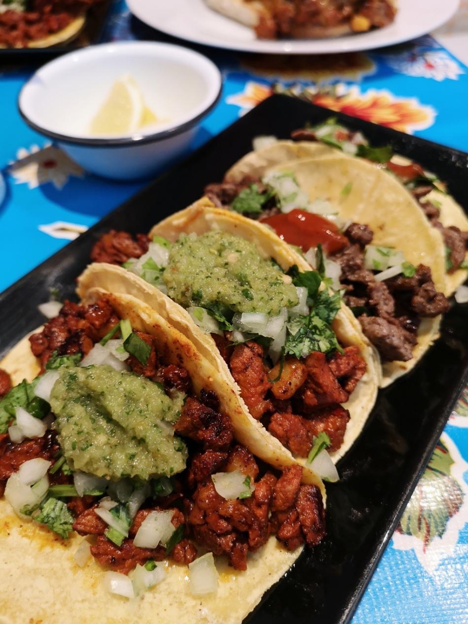 La Torteria Mexicana Tacos Pastor Bistec