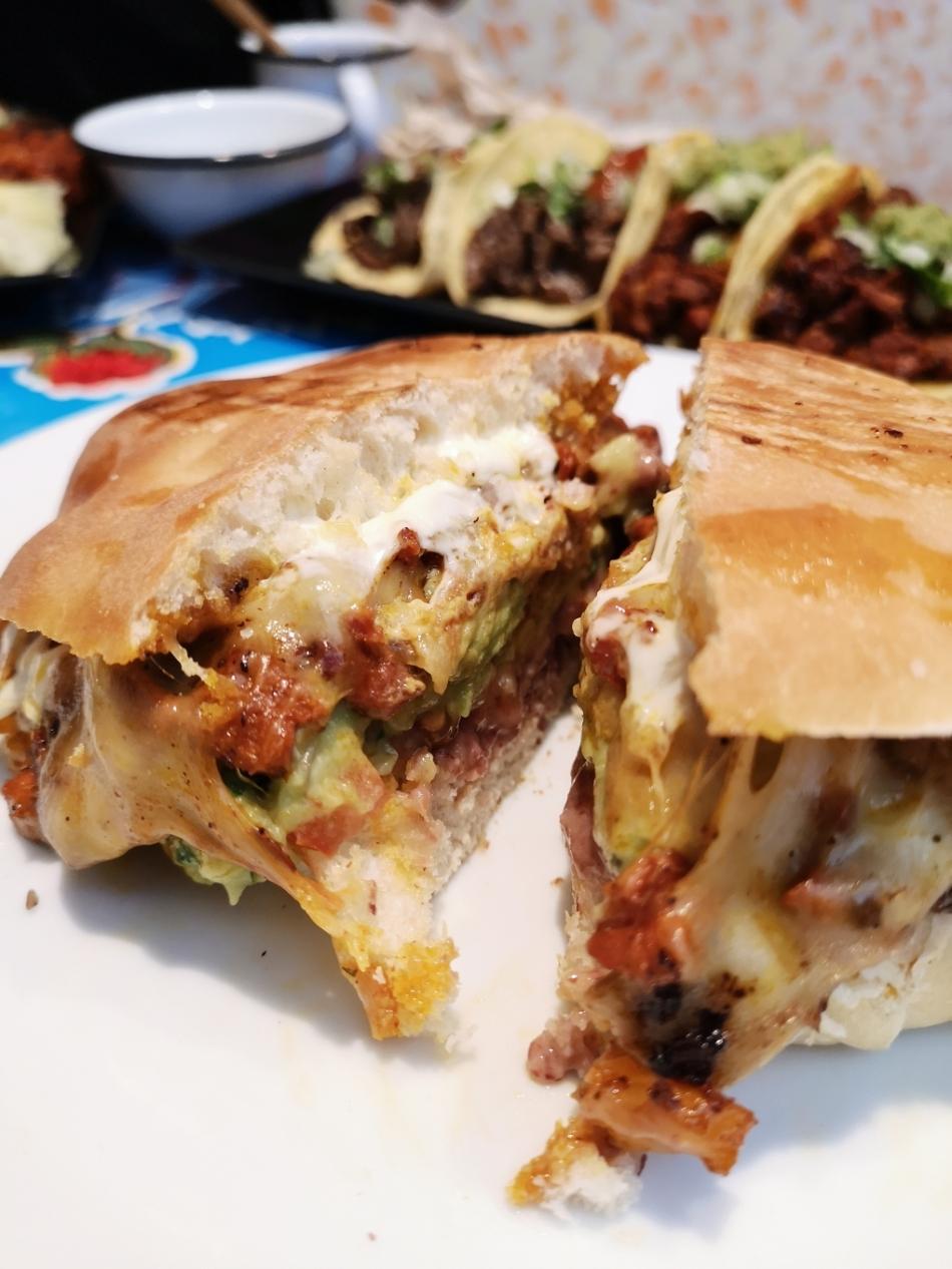 La Torteria Mexicana Torta Chilanguita