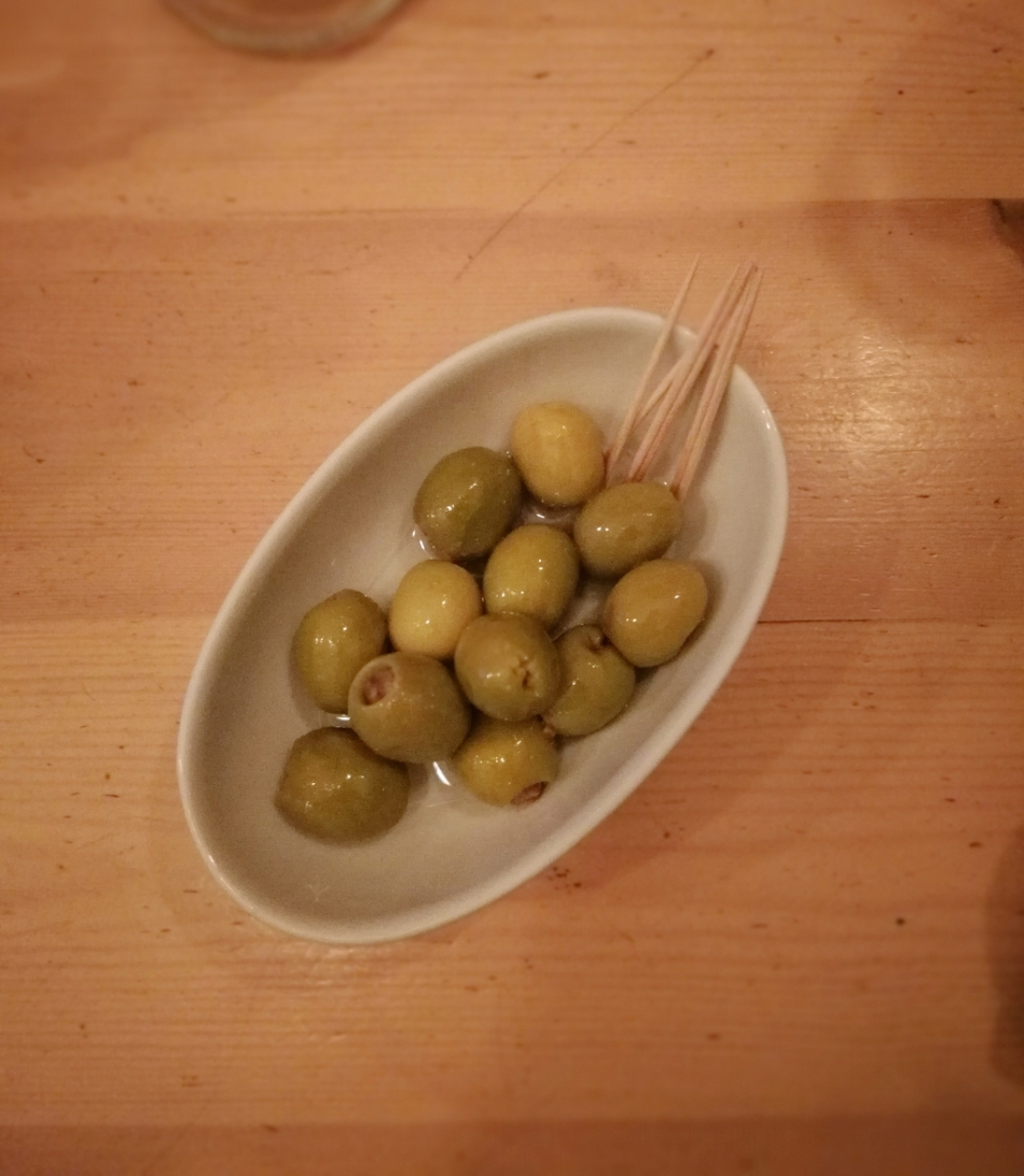 Olives Anchovies