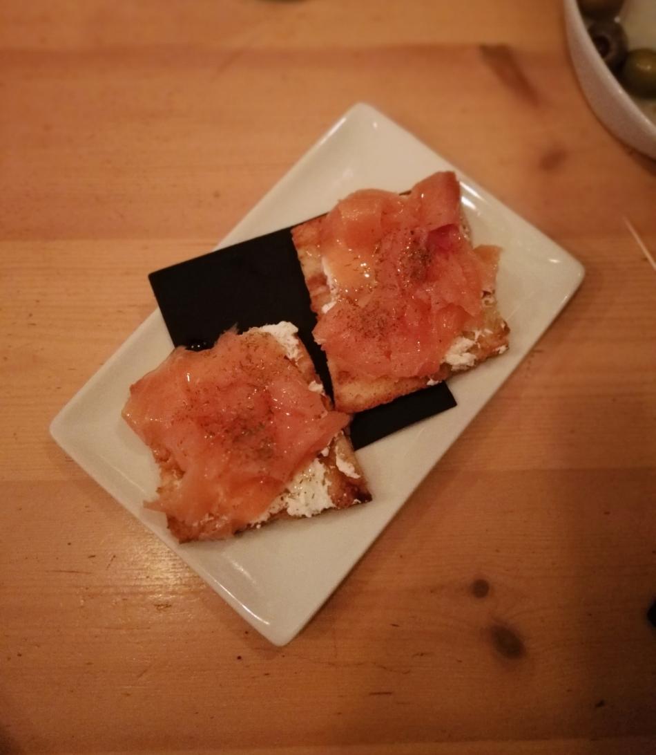 Salmon Cheese Honey 1