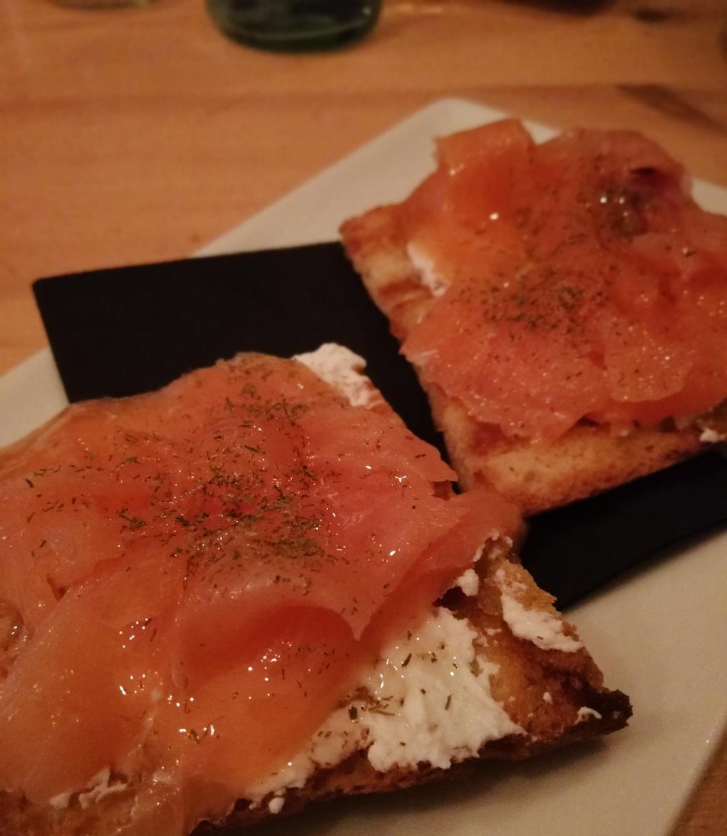 Salmon Cheese Honey 2