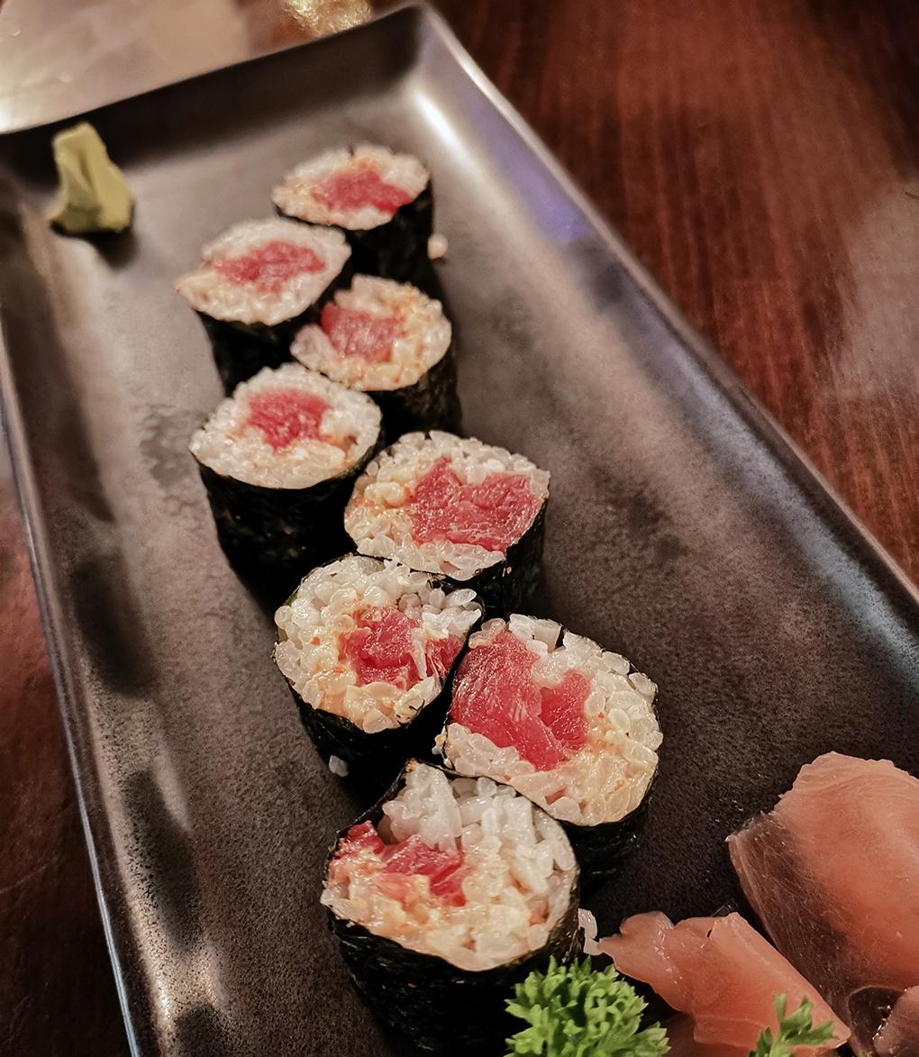 kibuka spicy tuna maki