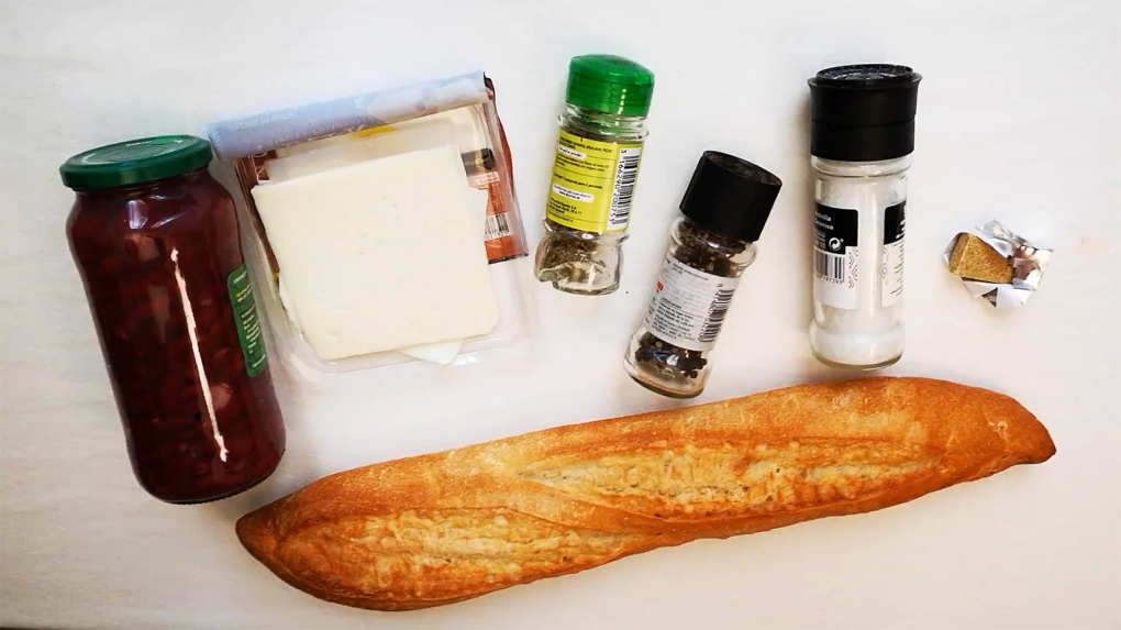 molletes ingredients 1