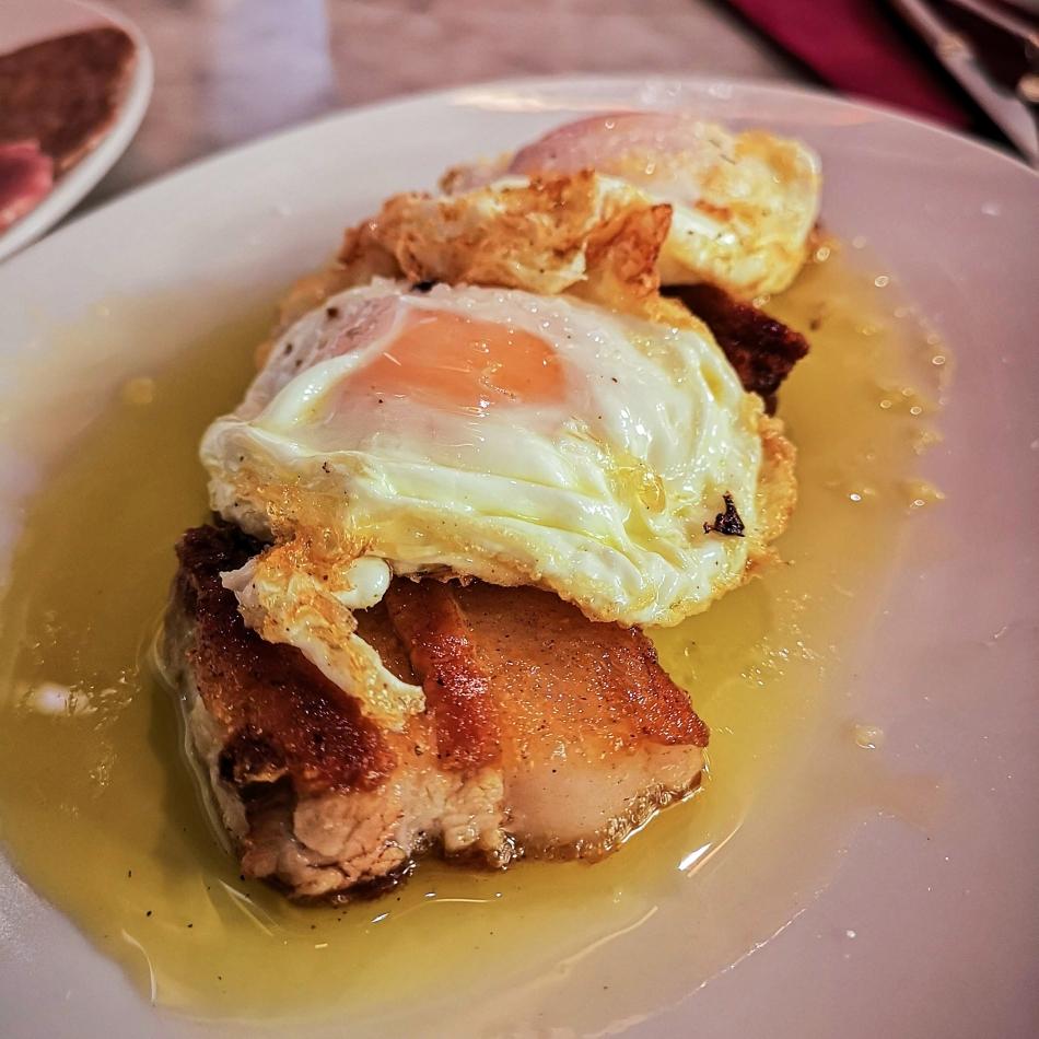 La Pubilla Egg with panceta 1500