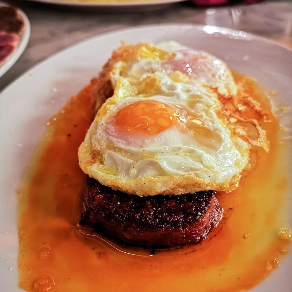 La Pubilla Egg with sobrasada 1500