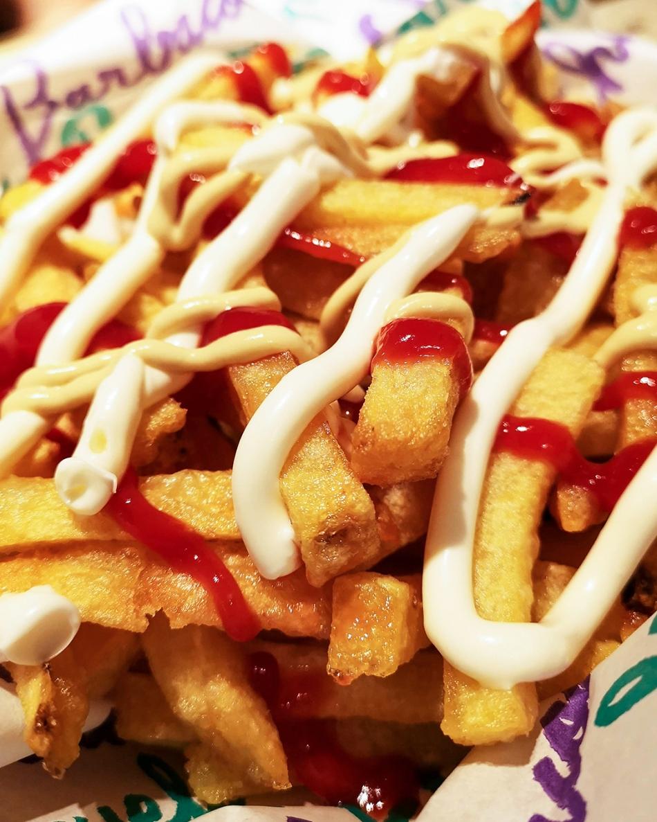 Pim Pam Burger Fries 1