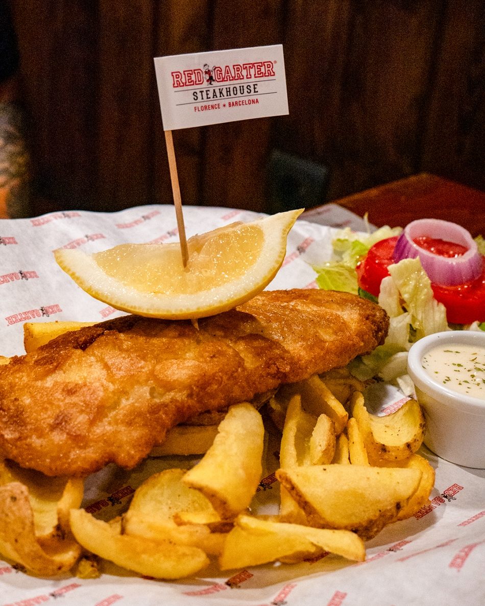 Red Garter Fish and Chips